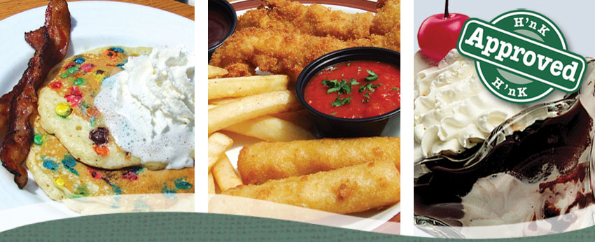 Kids Meals and Childrens Menu - Cape Cod Dining at the Hearth 'n Kettle Restaurants