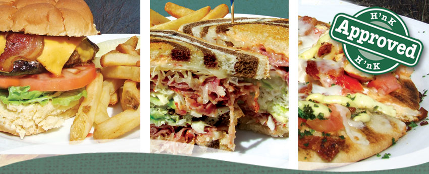 Sandwiches, Burgers, Pizzas and more at the Hearth 'n Kettle Restaurants
