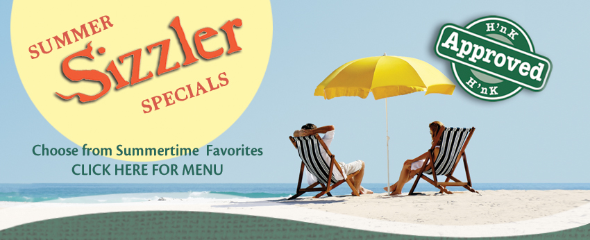 Summer Sizzler Menu